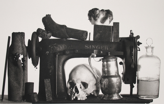 Irving Penn, 'Sewing Machine with 13 Objects, New York', 1980, Pace/MacGill Gallery