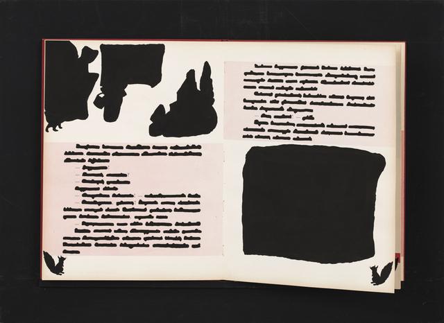 , 'Libro cancellato (Cappuccetto Rosso) ,' 1970, Erica Ravenna Arte Contemporanea