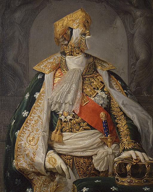 , 'Caput # 15 / 2348 based on NAPOLEON I. BONAPARTE (1769–1821) by Andrea Appiani, 1805,' 2018, Galerie Reinthaler