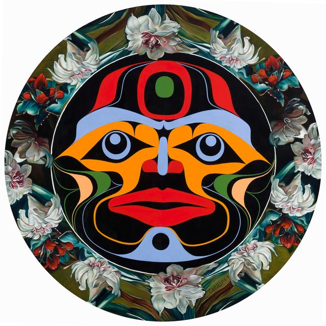 , 'Moon Mask,' 2017, Fazakas Gallery