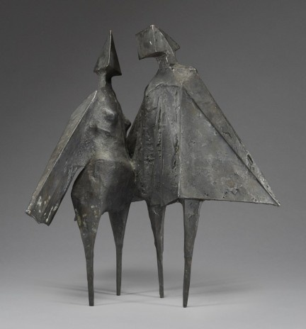 , 'Winged Figures II,' 1975, Piano Nobile