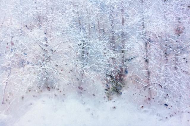 , 'Snowfall,' 2018, Kurbatoff Gallery