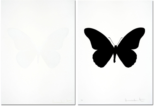 , 'Souls IV Raven Black/Souls IV White Cotton- Sold as a matching pair,' , Lawrence Alkin Gallery