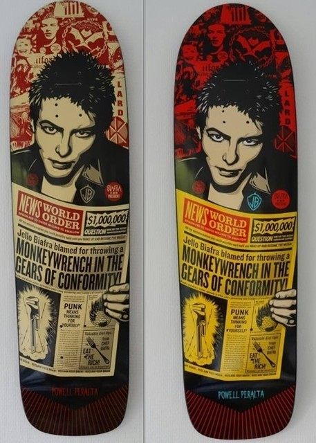 Shepard Fairey, 'Jello Biafra (set of 2)', Digard Auction