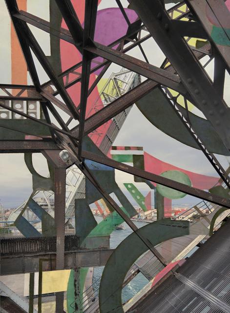 Stéphane Couturier, 'Les Nouveaux Constructeurs, Sète - Pont Sadi-Carnot n°2', 2018, Photography, C-print, Galerie Christophe Gaillard