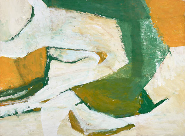 Charlotte Park, 'Untitled (Green, Yellow, and White)', ca. 1955, Berry Campbell Gallery
