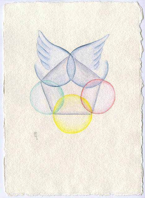 , 'Pentagram,' 2017, Praise Shadows Fine Art