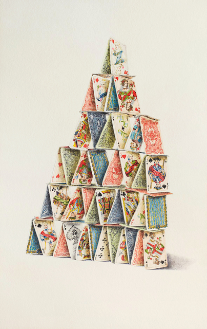 , 'Giant Card Castle,' ca. 1970, Allan Stone Projects