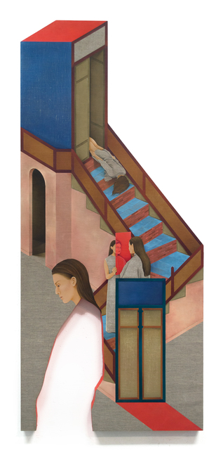 , 'Staircase to Heaven,' 2018, 532 Gallery Thomas Jaeckel