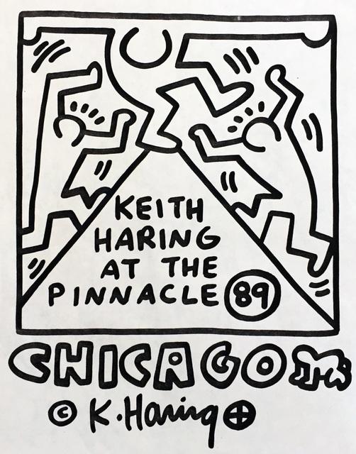 Keith Haring, 'Keith Haring at The Pinnacle ', 1989, Lot 180