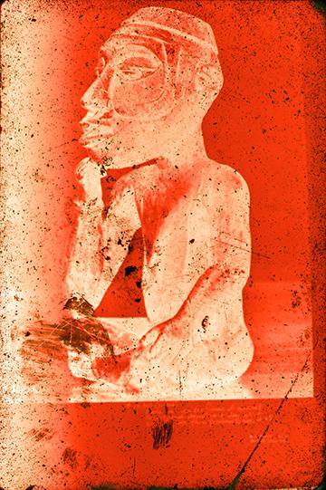 Philip Smith, 'Night (Red)', 2016, Artadia Benefit Auction
