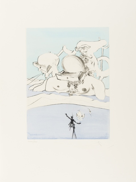 Salvador Dalí, 'After 50 years of Surrealism (Field 74-8A-L; M&L 665-676d)', 1974, Forum Auctions