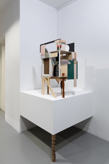 Alexey Luka, 'Casa delle porte', 2019, Sculpture, Wood, plywood, found objects, acrylic, can spray, Ruarts Gallery