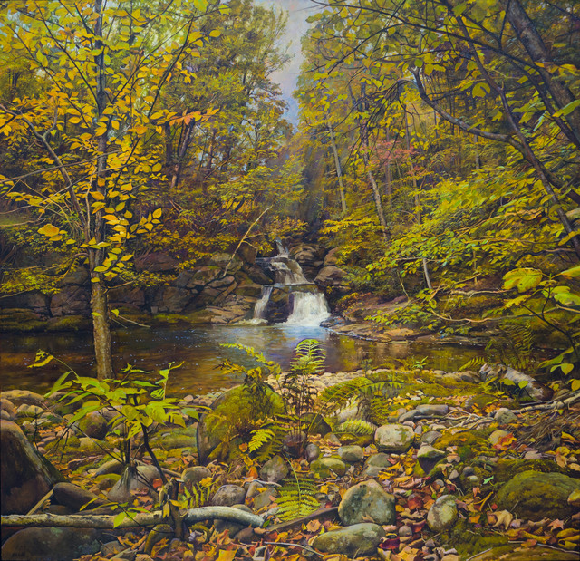 Joel Babb, 'Falls and Pool in the Forest', 2014, Vose Galleries