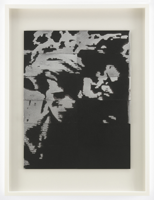 """, 'Detail number 1, """"Circa 1968"""" (young man with beautiful hair en route to the Bastille, May 13),' 2004, Mitchell-Innes & Nash"""