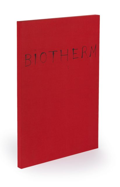 , 'Biotherm by Frank O'Hara,' 1990, Arion Press
