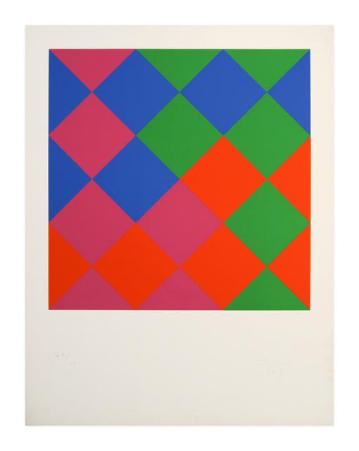 Max Bill, 'Farb-Quadrate', 1967, Kunzt Gallery
