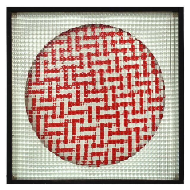 , 'Schema Variabile + Q130. Scacchiera rossa,' 1965, Cortesi Gallery