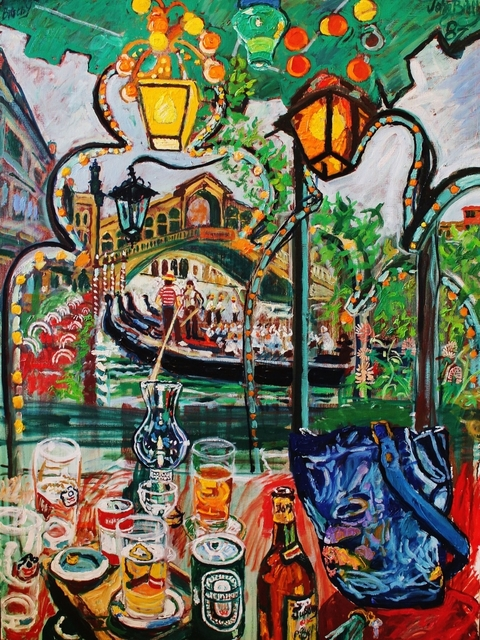 John Bratby, 'Venetian Afternoon', 1987, Castlegate House Gallery