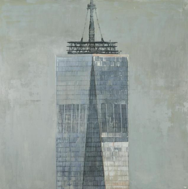 Patrick Pietropoli, 'Freedom Tower',   , Painting, Oil on Linen, Hugo Galerie