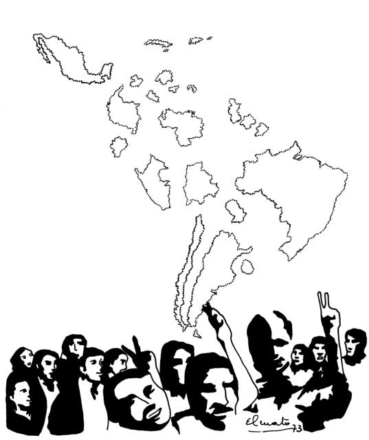 , 'Serie: Geo-historiografía. América fragmentada,' 1973, Henrique Faria   Buenos Aires