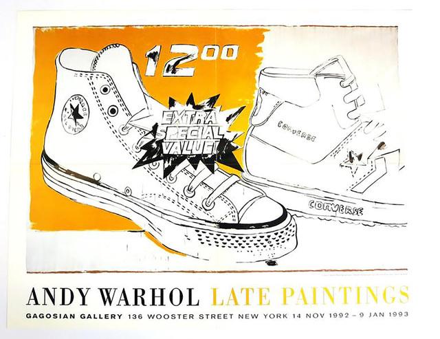 Andy Warhol, 'Vintage Andy Warhol Exhibit Poster', 1992, Lot 180