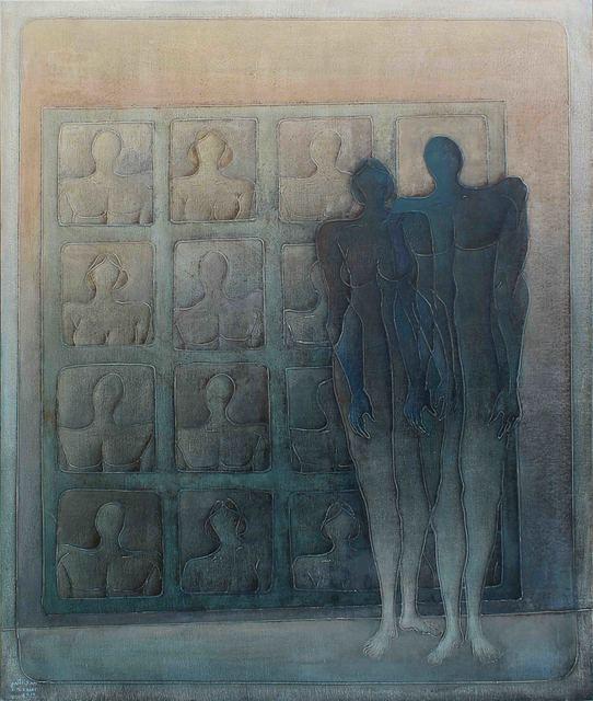 , 'Discourse of Silence 3,' 2014, al markhiya gallery