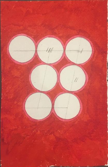 David Lamelas, 'Paralelogramo sobre siete círculos', 1989, Herlitzka + Faria