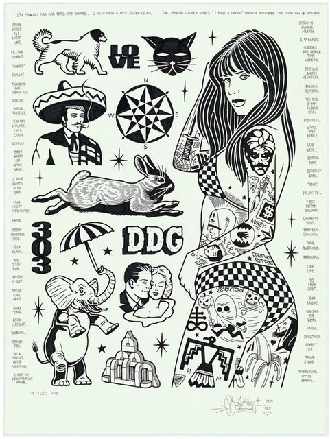 , 'DDG,' 2016, Black Book Gallery