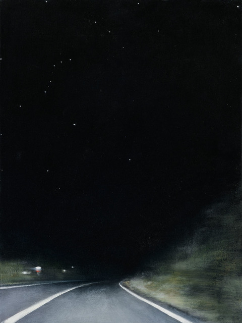, 'Night Road 1,' 2015, G. Gibson Gallery