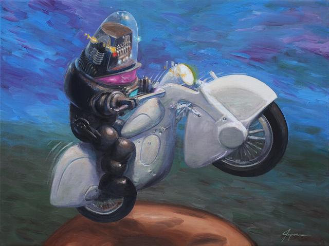 , 'Robo Biker,' , Corey Helford Gallery