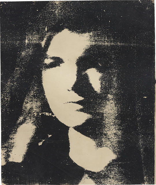 Andy Warhol, 'Jackie', 1964, Silkscreen ink on paper, Phillips