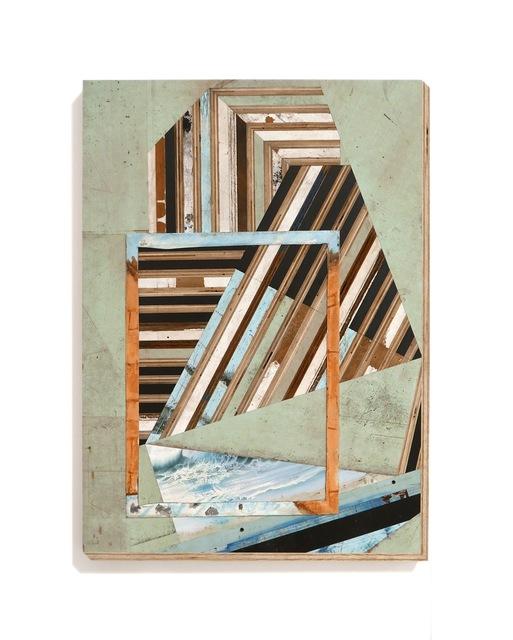 Michael Zelehoski, 'Water Stress', 2018, Sculpture, Reconfigured wood and phenolic plywood, Bernay Fine Art