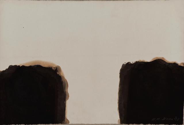 , 'Umber-Blue 87 #39,' 1987, Wellside Gallery