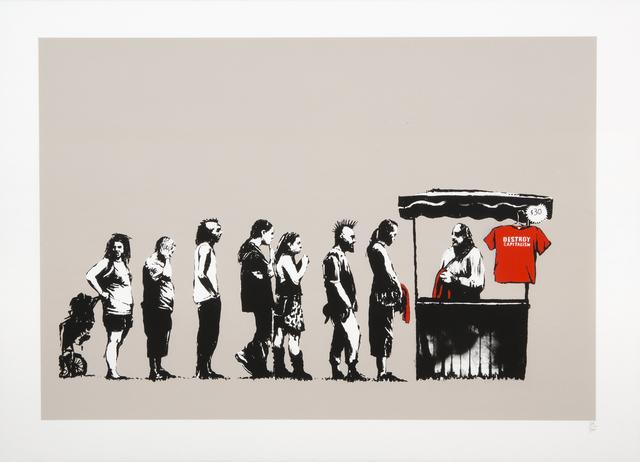 Banksy, 'Festival (Destroy Capitalism)', 2006, Julien's Auctions