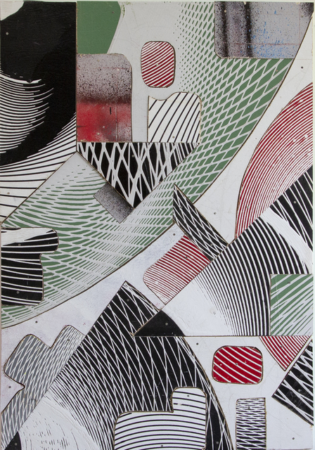 , '25 Cuts,' 2019, L+/ Lucie Chang Fine Arts