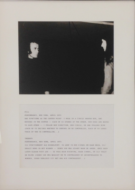 ", '""Pull, April 1971"",' 1971, Lee Gallery"