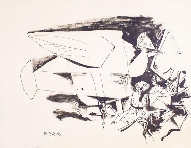 Pablo Picasso, 'Les Pigeon et Ses Petits', 1947, Wallector