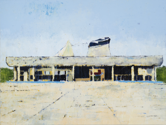 , 'Palace of Assembly Chandigarh,' 2017, Leila Heller Gallery