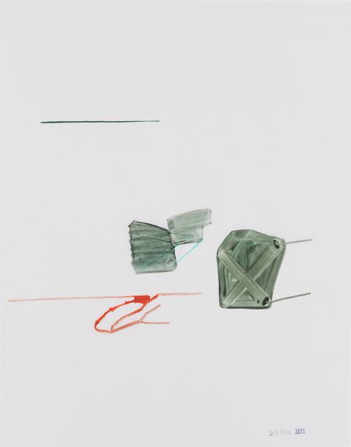 , 'lose Enden,' 2015, Galerie Heike Strelow