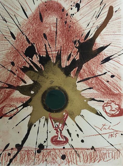 """Salvador Dalí, 'Sanguis Novi testamenti - From """"Biblia Sacra""""', 1965, Wallector"""