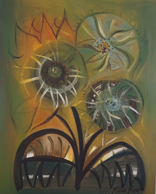 , 'Tres Girasoles / Three Sunflowers,' 2012, ArteMorfosis - Cuban Art Platform