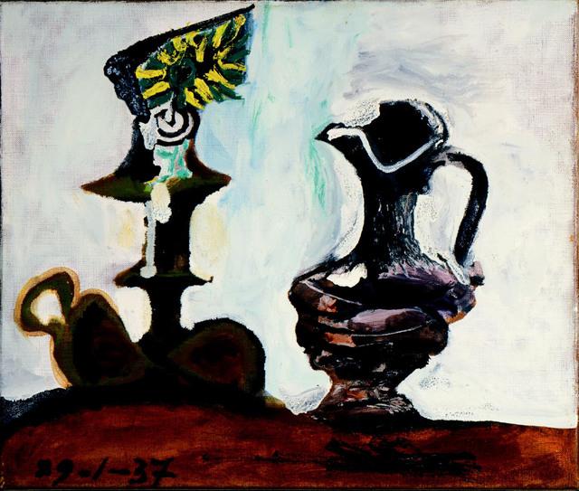 Pablo Picasso, 'Nature Morte au Bougeoir et a la Cruche,' 1937, Opera Gallery