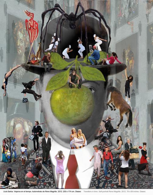 , 'Self Portrait Magritte,' 2011, Peimbert Art