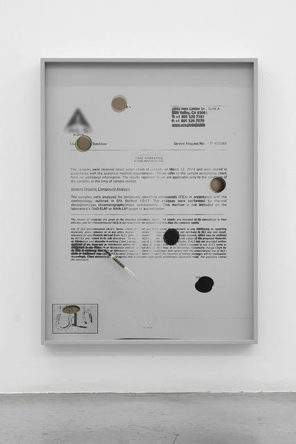 , 'Untitled (Variant, Cast Narrative),' 2014, M+B