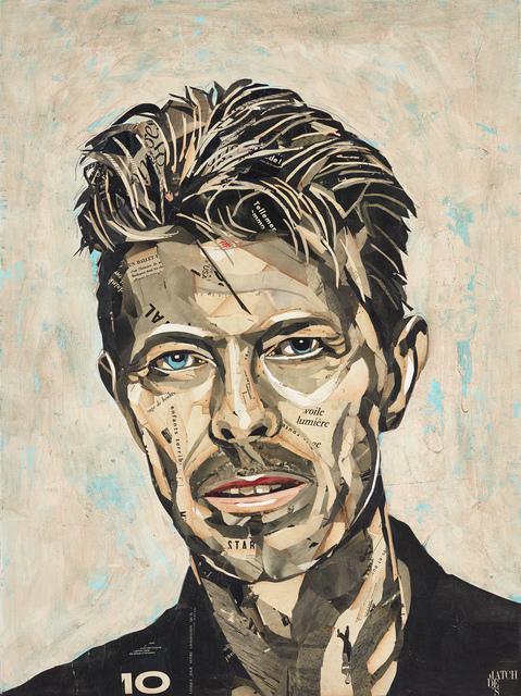 , 'David Bowie III,' 2019, GALERIA JORDI BARNADAS