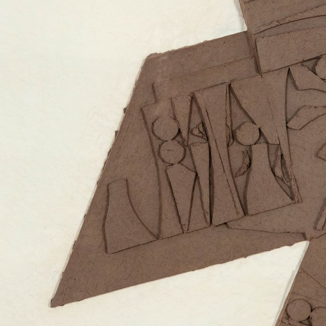 Louise Nevelson, 'Nightstar', 1980, Drawing, Collage or other Work on Paper, Cast paper relief, Caviar20