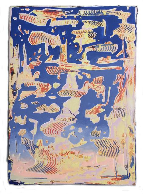 Jenna Pirello, 'Deep End (dark blue)', 2018, Jim Kempner Fine Art