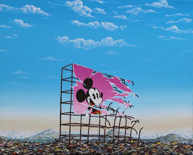 , 'New Mickey Landfill Billboard,' 2017, Gregorio Escalante Gallery