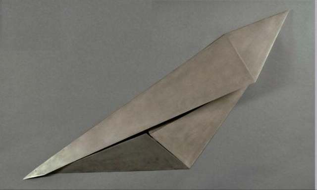 Beverly Pepper, 'Beverly Pepper Modernist Steel Wall Sculpture Abstract Welded Geometric Origami', 20th Century, Lions Gallery